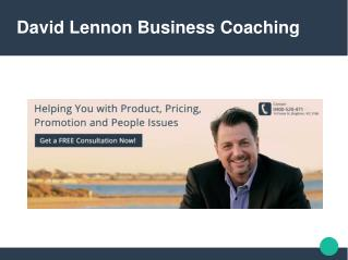 David lennon business coaching