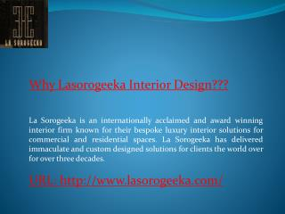 Lasorogeeka Best Furniture Manufacturers India