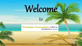 Hire Luxury Tempo Traaveller in Jaipur