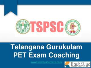 TSPSC Gurukulas Physical Education Teachers - PET - Online Training