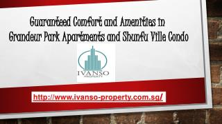 Guaranteed Comfort and Amenities in the Grandeur Park Apartments and Shunfu Ville Condo