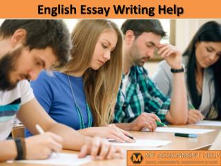 English Essay Writing Help
