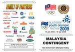 MALAYSIA CONTINGENT