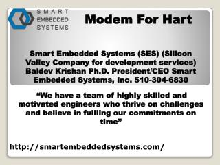 ARM System design and services- smartembeddedsystems.com- Hart hardware System- HART modem- Industrial automation device