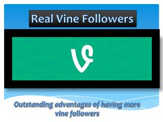 Real Vine Followers
