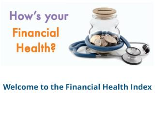 Financial Health And Resilience Of Canadians