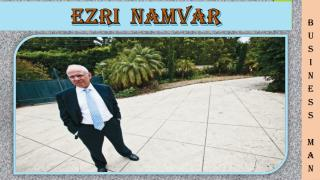 Ezri Namvar - A businessman