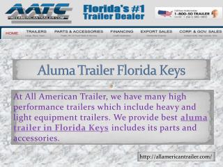 Open Trailer Florida Keys