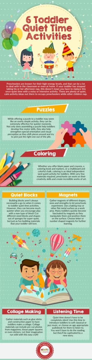 6 Toddler Quiet Time Activities