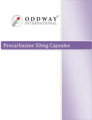 P-Carzine 50mg Capsules | Procarbazine 50mg Capsules Price India