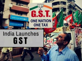 Good and Simple Tax  launch in India,2017