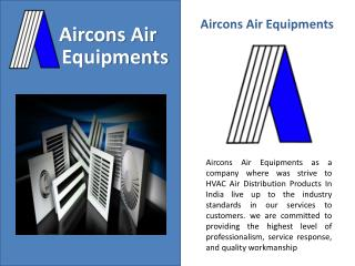 hvac air distribution product nagpur india