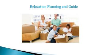 Relocation planning and Guide