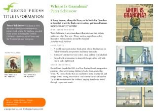 Where is Grandma Gecko Press
