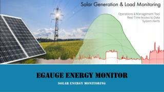 eGauge Energy Monitor - BCJ Controls | Solar Relay