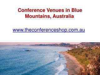 Conference Venues in Blue Mountains, Australia- Theconferenceshop.com.au