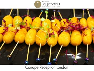 Canape Reception London