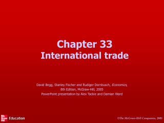 Chapter 33 International trade