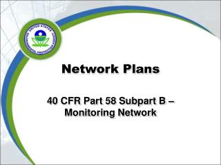 Network Plans