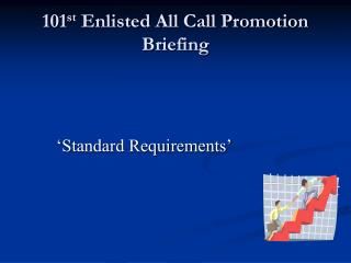 101st Enlisted All Call Promotion Briefing