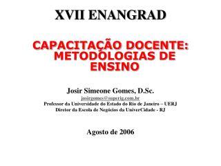 XVII ENANGRAD