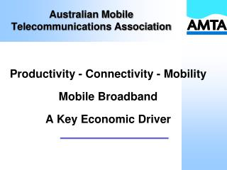 Australian Mobile Telecommunications Association