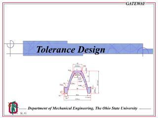 Tolerance Design