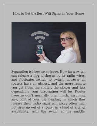 Best Wifi Signal With My Wifiext