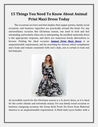 Buy Printed Maxi Dresses in Woodland Hills, CA