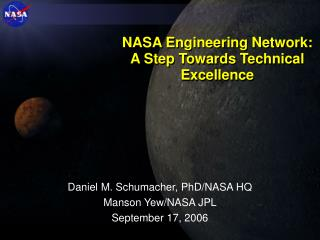 NASA Engineering Network: A Step Towards Technical Excellence