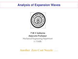 Analysis of Expansion Waves