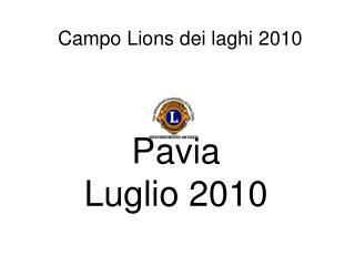 Campo Lions dei laghi 2010