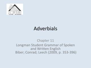 Adverbials