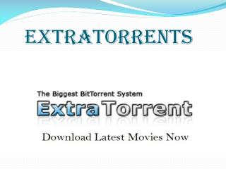 ExtraTorrent.ag - The Real ExtraTorrents successor