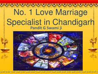 No. 1 Love Marriage Specialist in Chandigarh, India