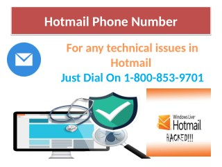 Reliable support for Hotmail account issue