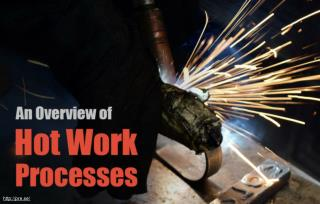 Effects of Welding Processes Conducted During Hot Work Processes