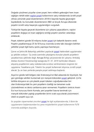Poşet timambalaj.net