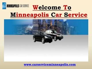 Airport Limousine Services in Minneapolis   Minneapolis Car Service