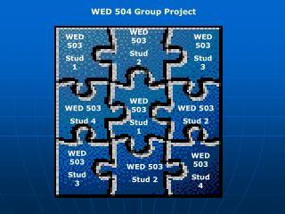 WED 503 Stud 1