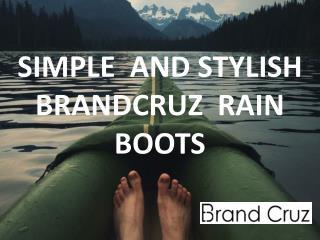 Fashion Rain Boot Collection