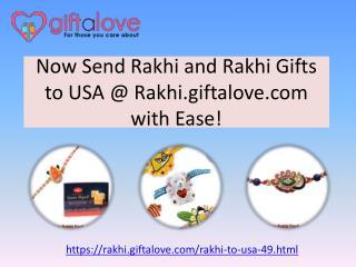 Send Rakhi and Rakhi Gifts to USA