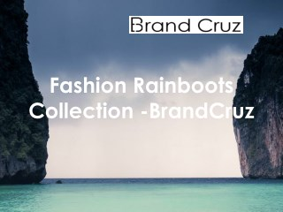Designer Rainboots For Women