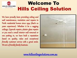 Hills Ceiling Solutions in Mundaring