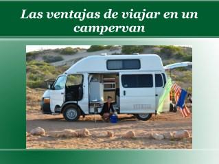Las ventajas de viajar en un campervan
