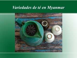 Variedades de té en Myanmar