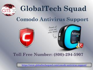 Comodo Antivirus Support in USA Toll Free 1-800-294-5907