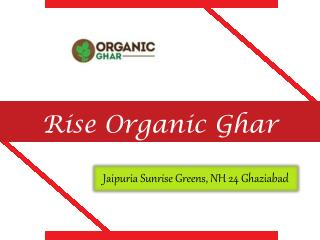 Rise Organic Ghar Ghaziabad – Price Lists, Review