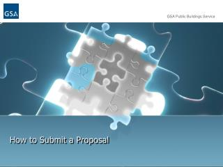 How to Submit a Proposal