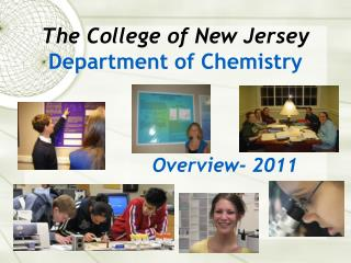 The College of New Jersey Department of Chemistry